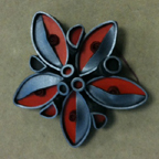Polymer Clay Pin