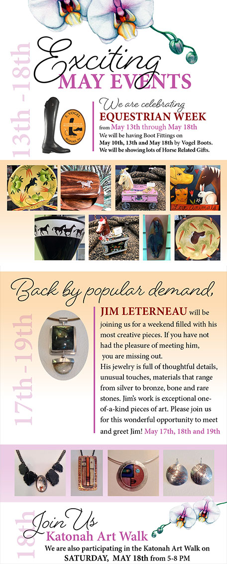 Jim LeTerneau Trunk Show - One-of-a-kind Jewelry